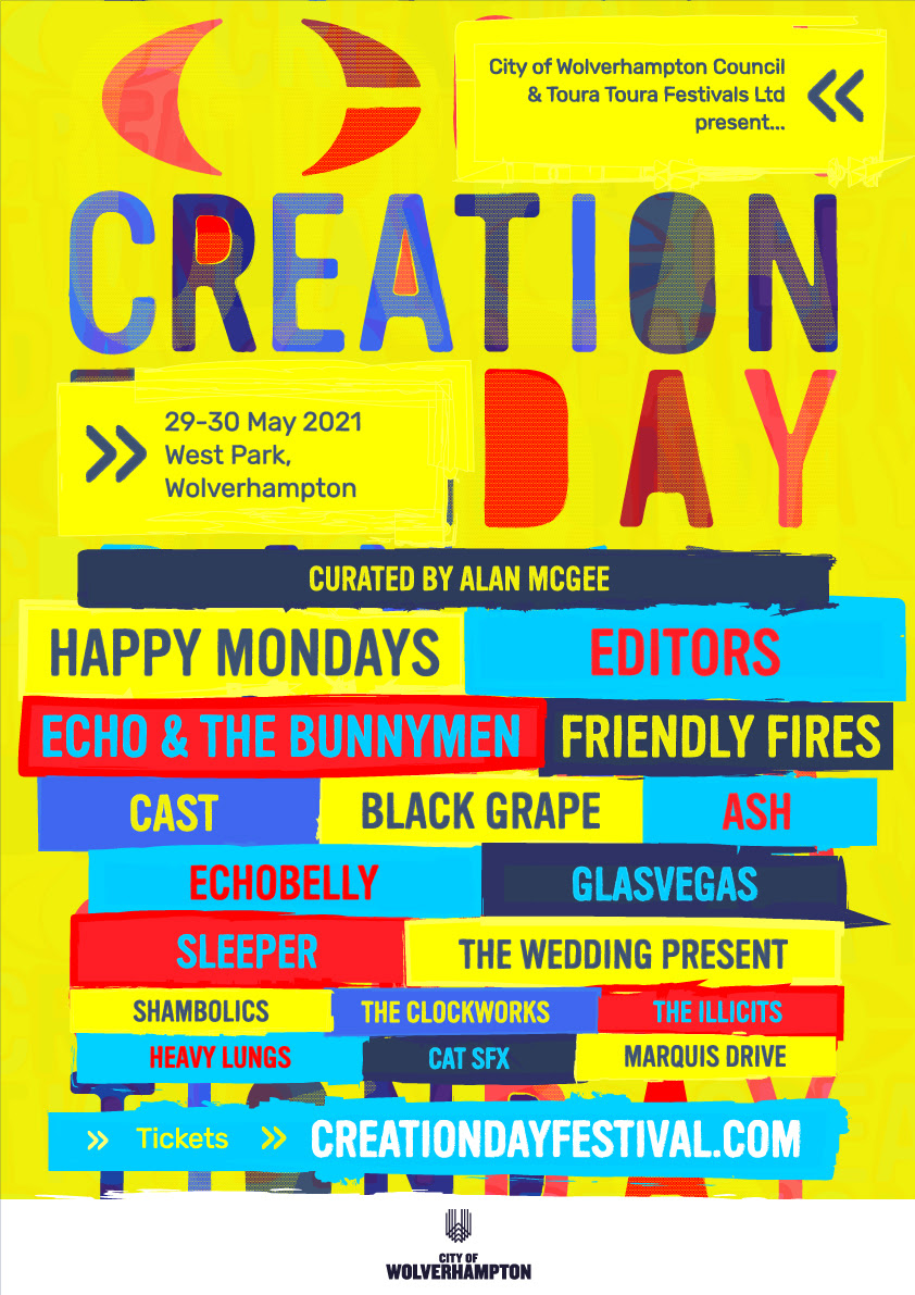 Creation Day 2021 line-up