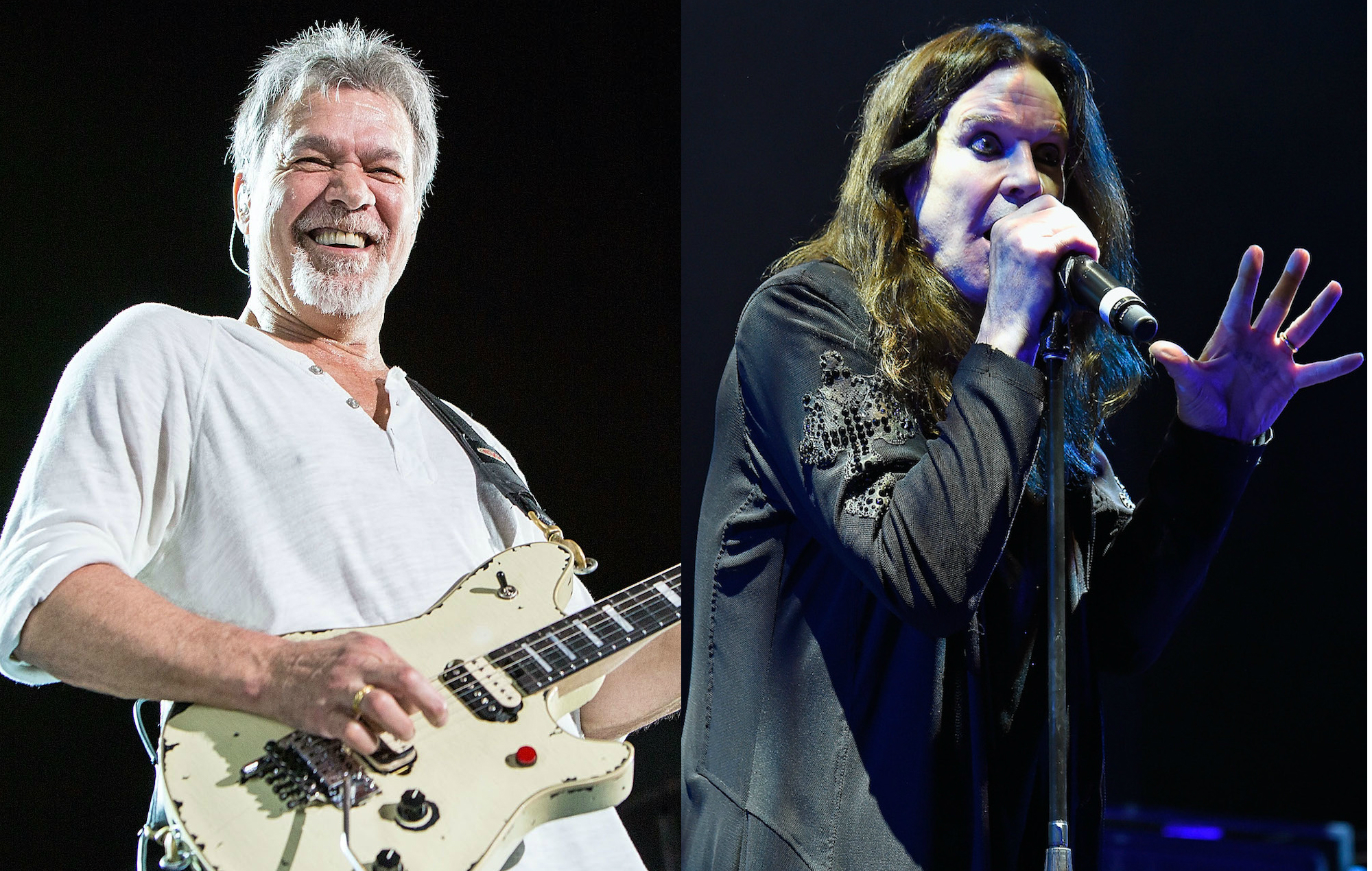 Eddie Van Halen, Ozzy Osbourne