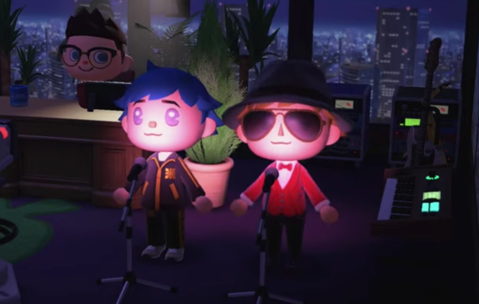 Watch Gorillaz and Beck perform inside 'Animal Crossing'