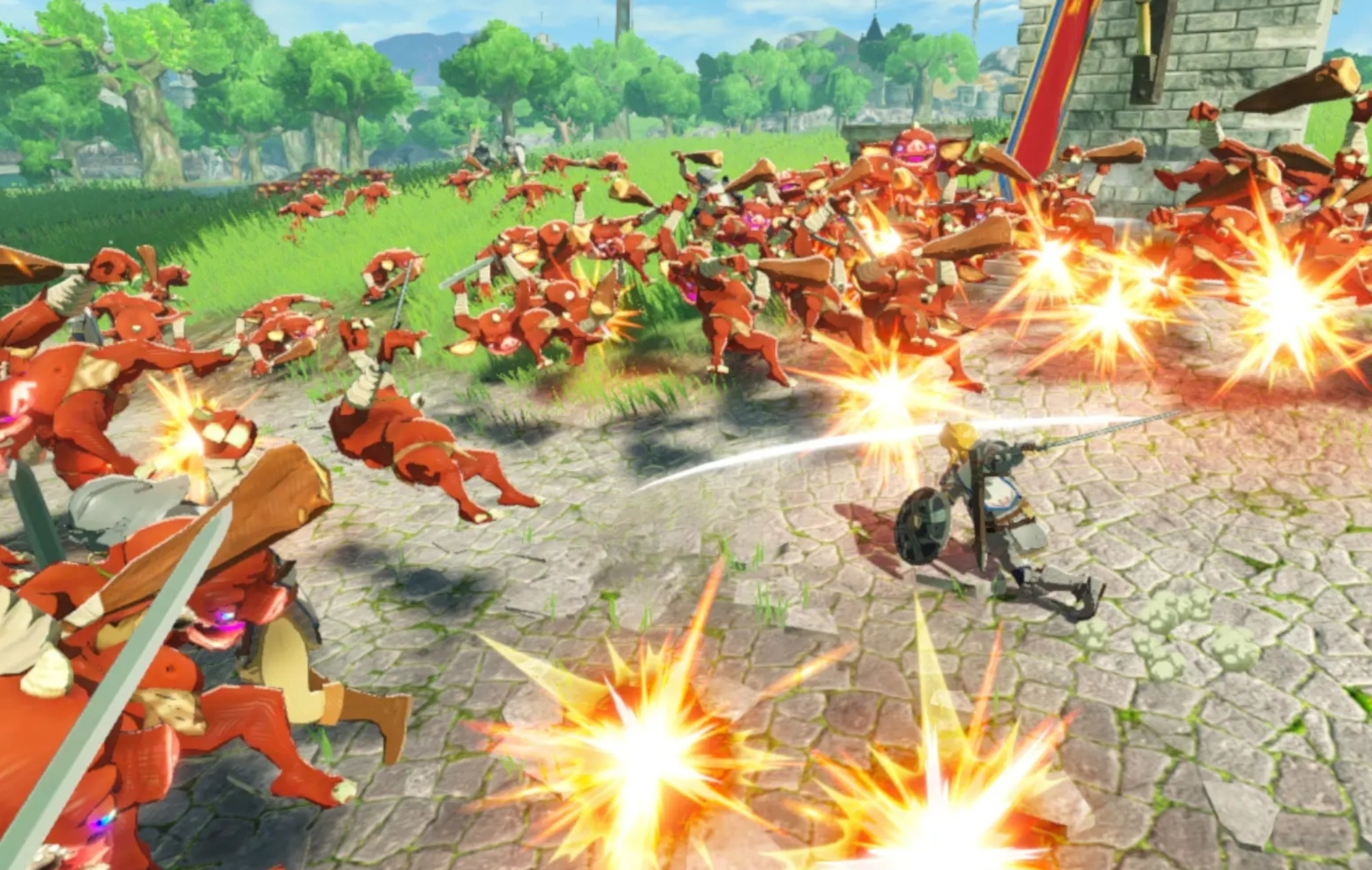 Hyrule Warriors Age Of Calamity Trailer Showcases New Character Abilities
