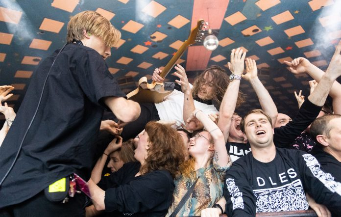 IDLES new album Ultra Mono Lee Kiernan guitarist interview