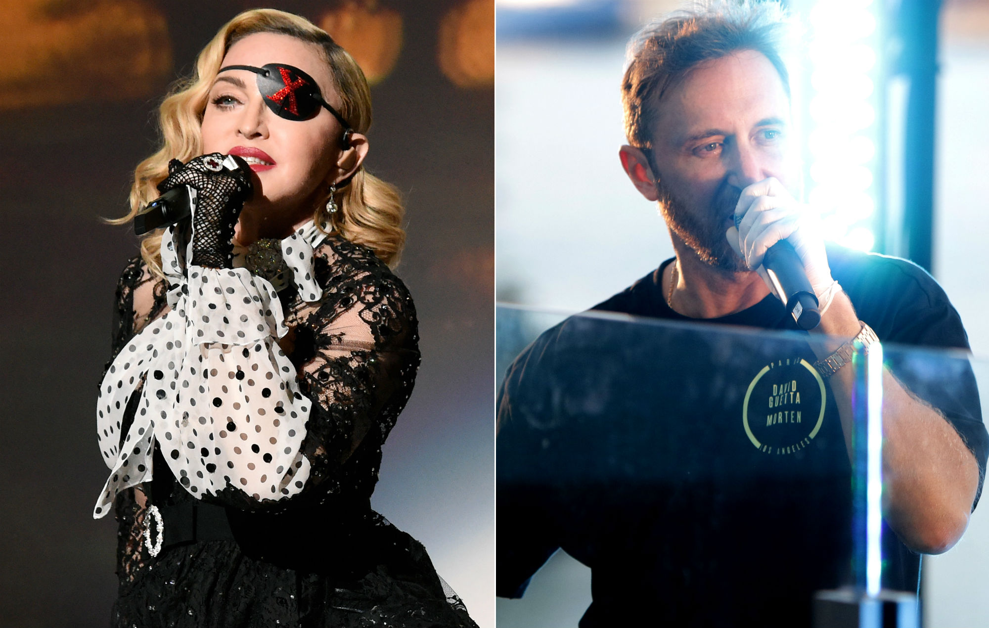 """Madonna """"refused to work with David Guetta"""" after he revealed his star sign"""