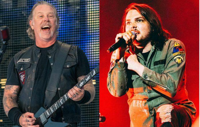 Metallica, James Hetfield, My Chemical Romance, Gerard Way