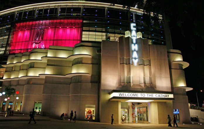 Singapore cinemas movie theatre Tracetogether digital contact tracing