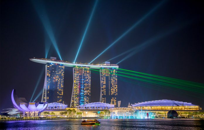 Singapore Marina Bay Sands live performances permitted from November 1 COVID-19 coronavirus pandemic
