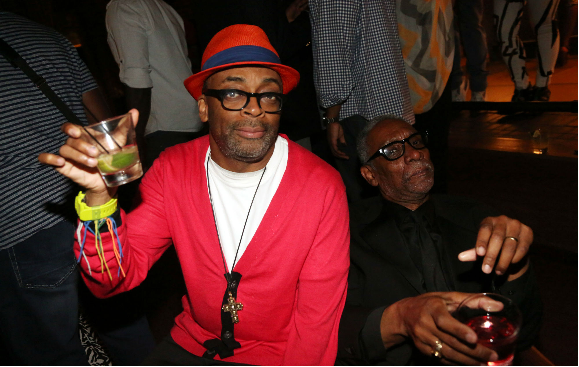 Spike Lee and Thomas Jefferson Byrd