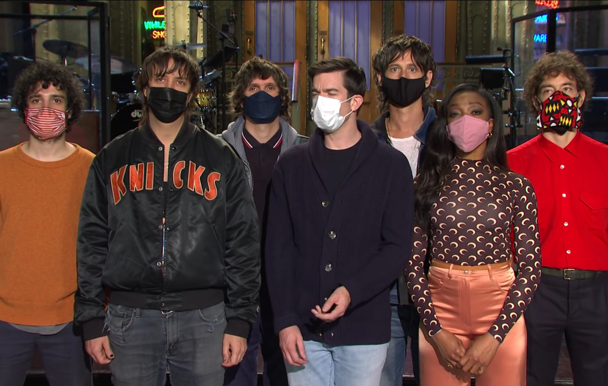 Watch The Strokes mask up for new 'Saturday Night Live' promo