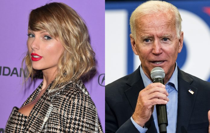 taylor swift joe biden getty images george pimentel sean rayford