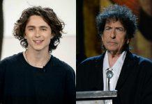 Timothée Chalamet, Bob Dylan