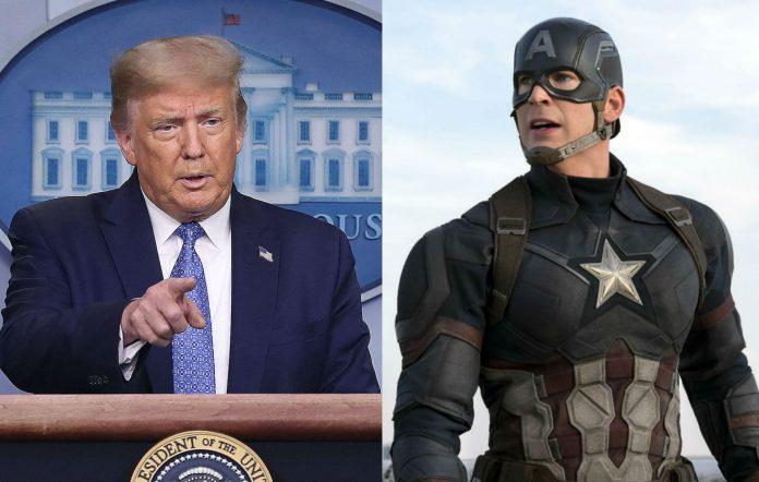 Donald Trump Captain America