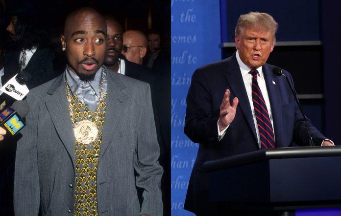 Tupac / Donald Trump