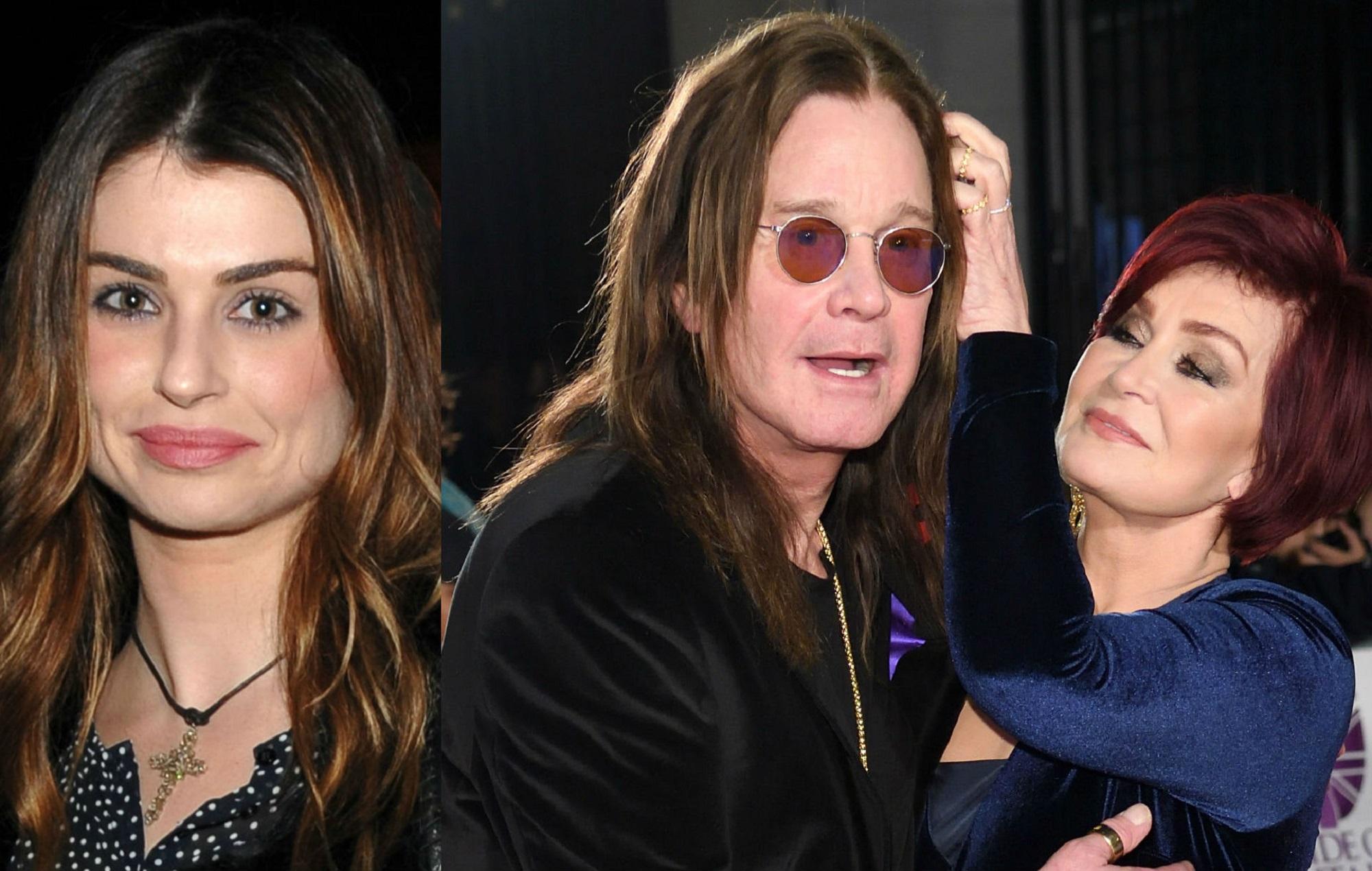 Aimée Osbourne, Ozzy and Sharon Osbourne