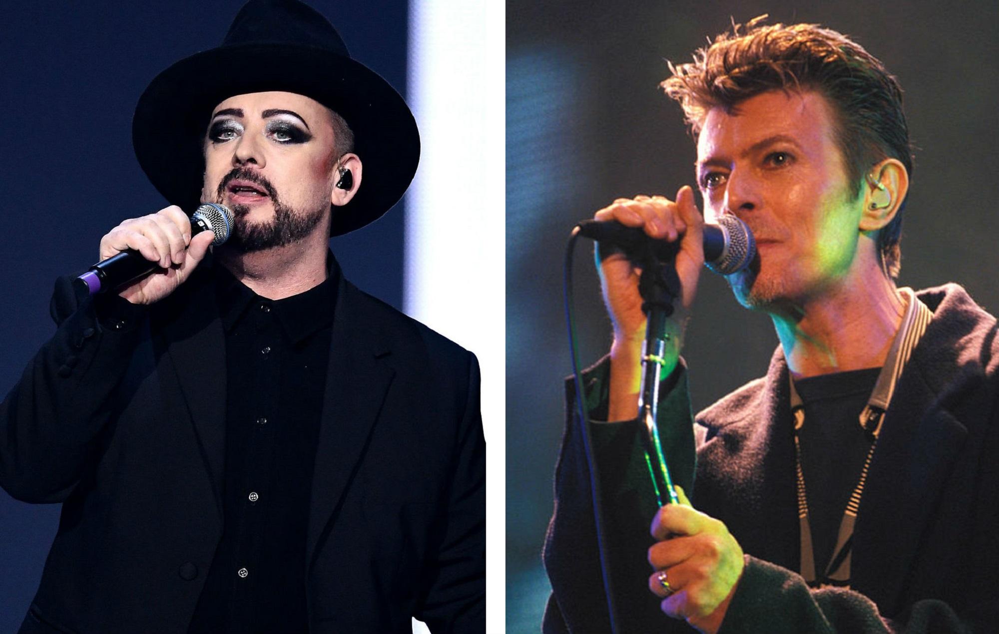 Boy George and David Bowie