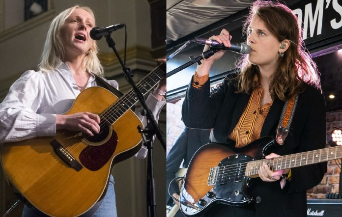 Laura Marling and Marika Hackman