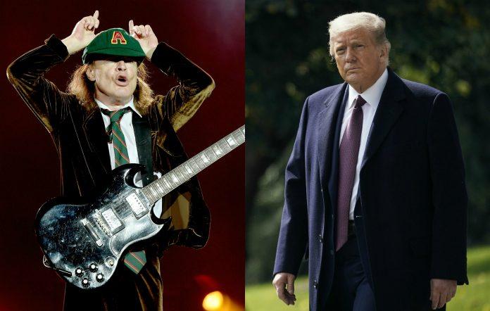 Trump AC/DC mash-up