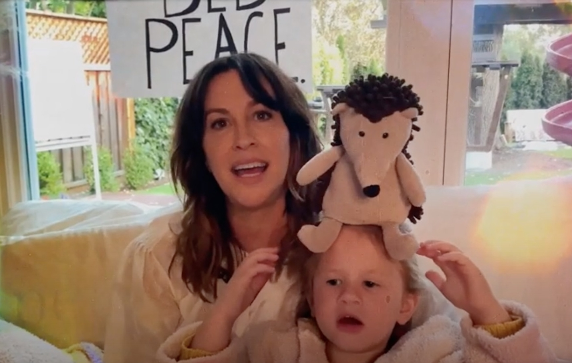 Alanis Morissette shares cover of John Lennon and Yoko Ono's 'Happy Xmas (War Is Over)'