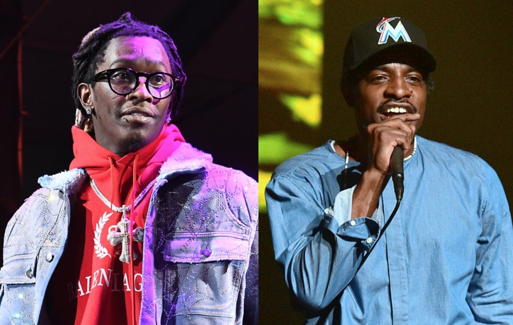 """Young Thug on OutKast's Andre 3000: """"I ain't never paid attention to h... image"""