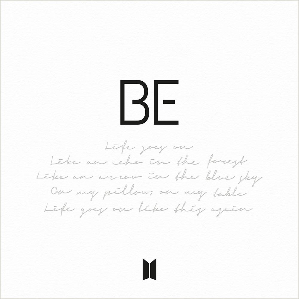 BTS, BE album cover