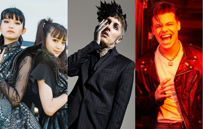 BABYMETAL shot by Carolina Faruolo for NME, Bring Me The Horizon's Oli Sykes shot by Zoe McConnell for NME, Yungblud shot by Matt Salacuse for NME.