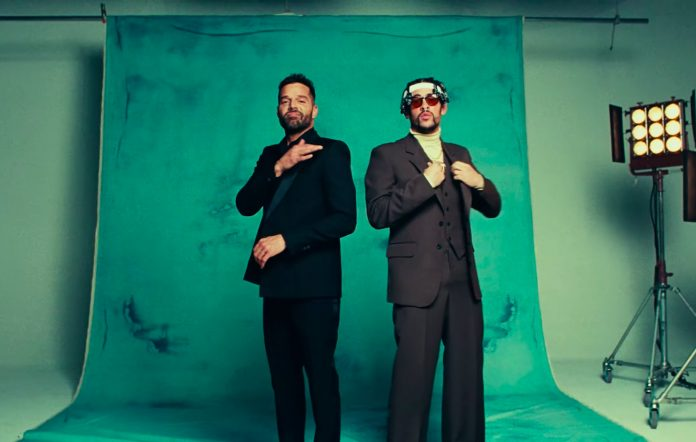 Still from Bad Bunny's 'Yo Vista Así' video.