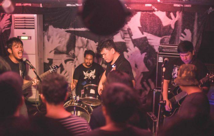 beast jesus performing at a gig