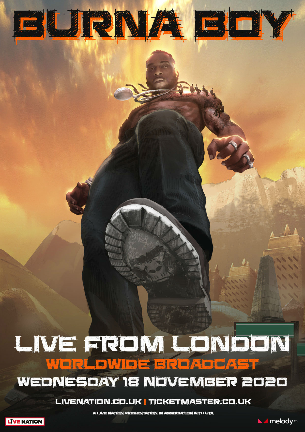 Burna Boy 'Live From London'