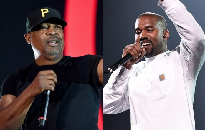 Chuck D and Kanye West