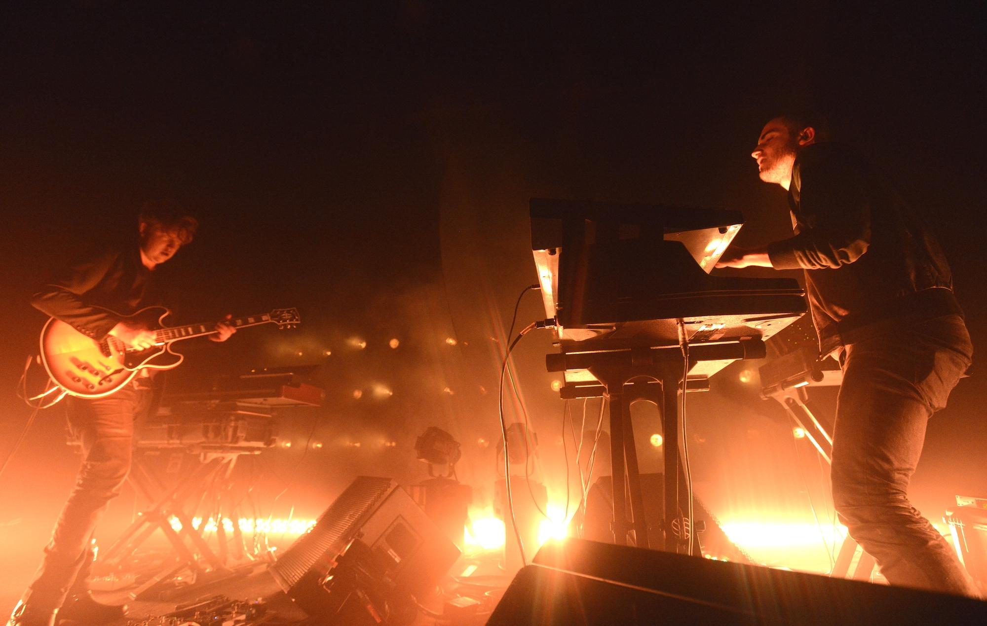 Darkside perform live in 2014
