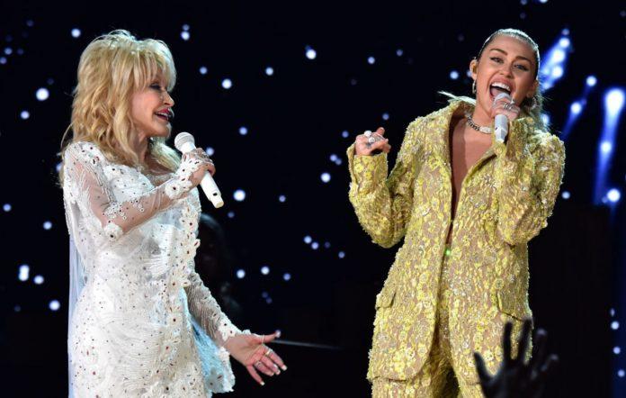 Dolly Parton and Miley Cyrus