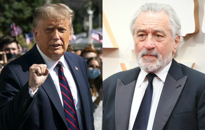 Robert De Niro Donald Trump loss