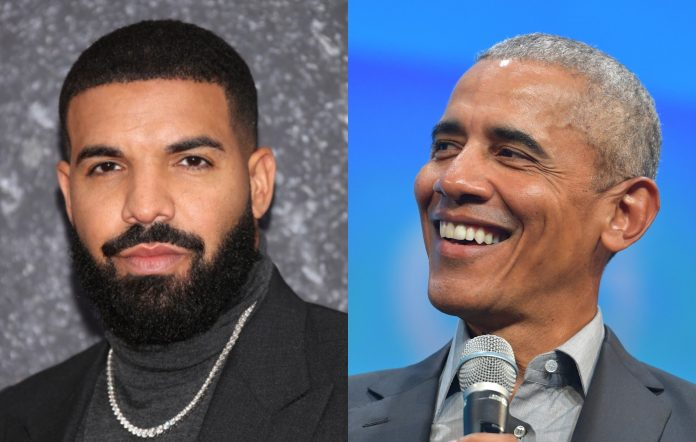 Drake has Barack Obama's