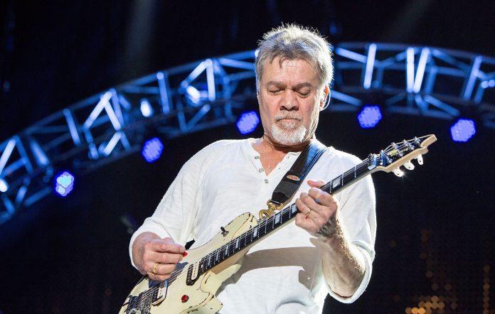 Eddie Van Halen performing in 2015