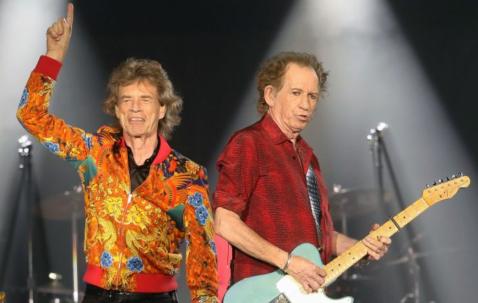 The Rolling Stones' Mick Jagger and Keith Richards