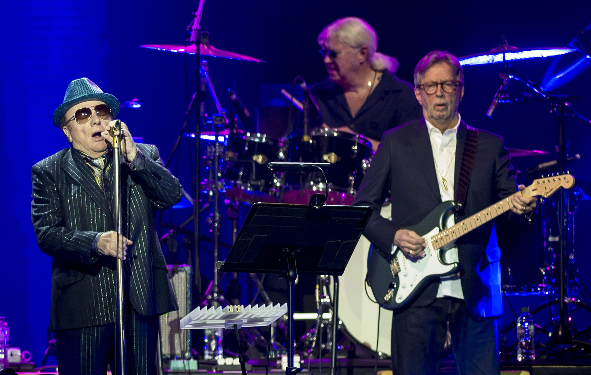 Eric Clapton announces new anti-lockdown song with Van Morrison