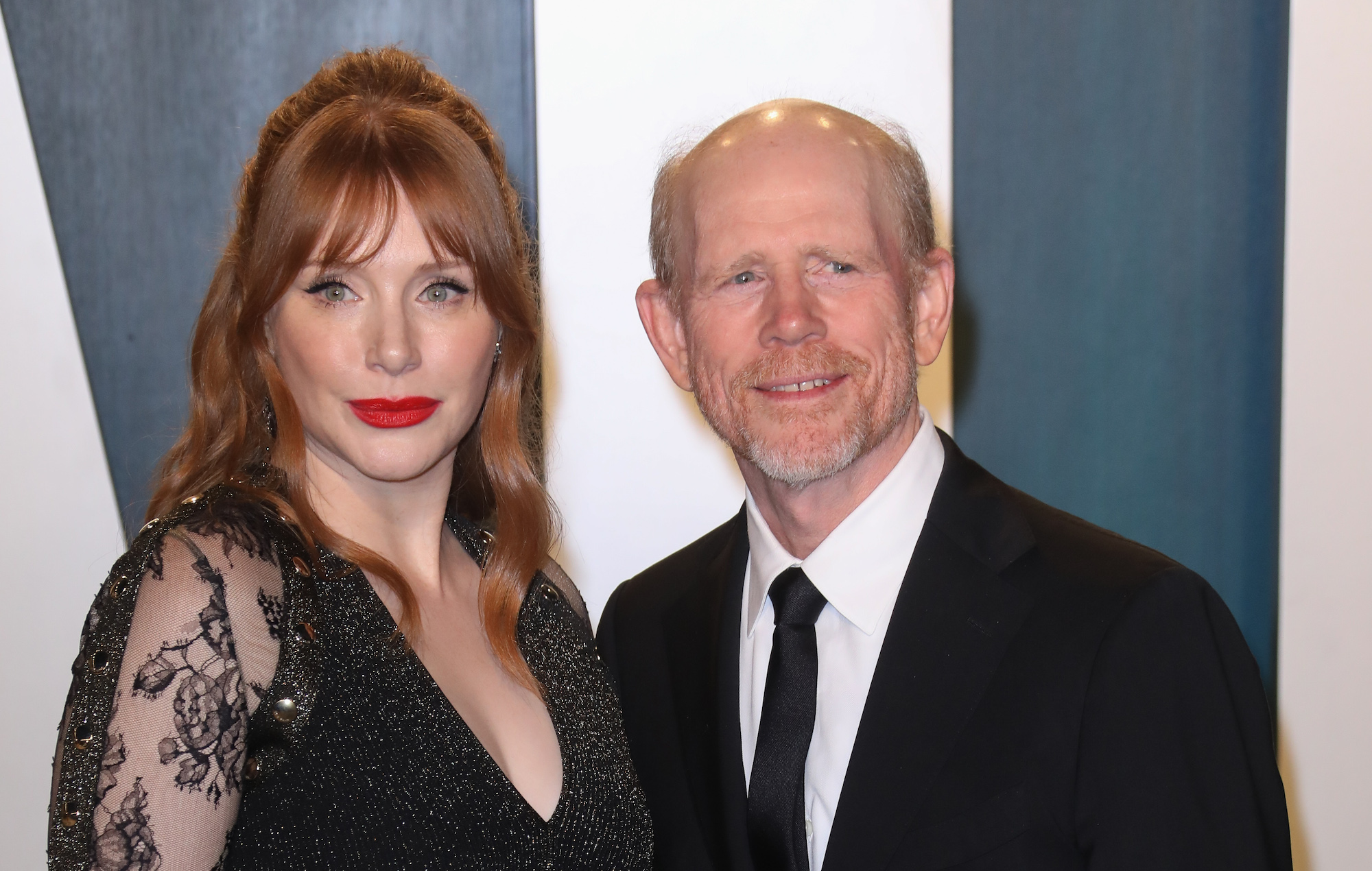 Ron Howard reacts to Bryce Dallas Howard's tribute in 'The Mandalorian'