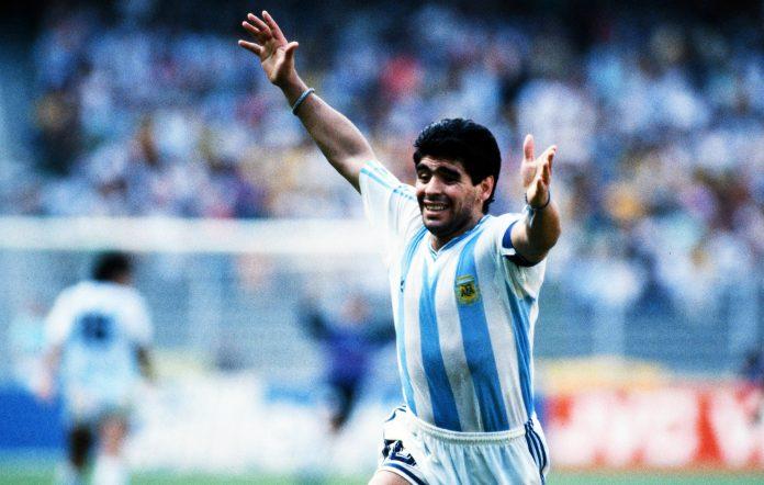 Diego Maradona dies