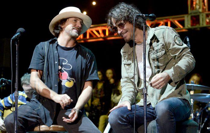 Eddie Vedder Chris Cornell grief