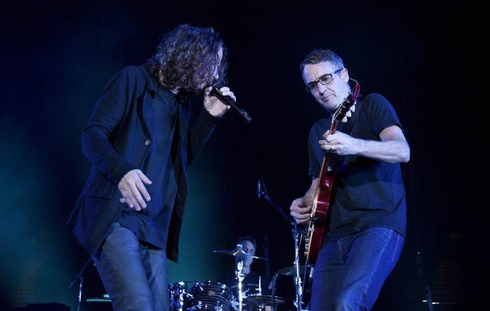 Chris Cornell and Stone Gossard