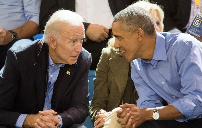 Joe Biden and Barack Obama