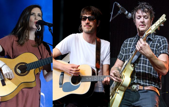 Missy Higgins, Marlon Williams, Chris Cheney of The Living End