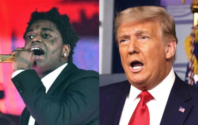 Kodak Black and Donald Trump