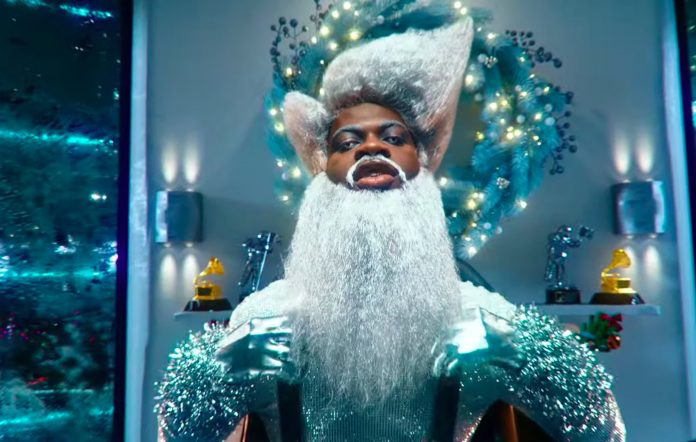 Still from Lil Nas X's 'Holiday' video
