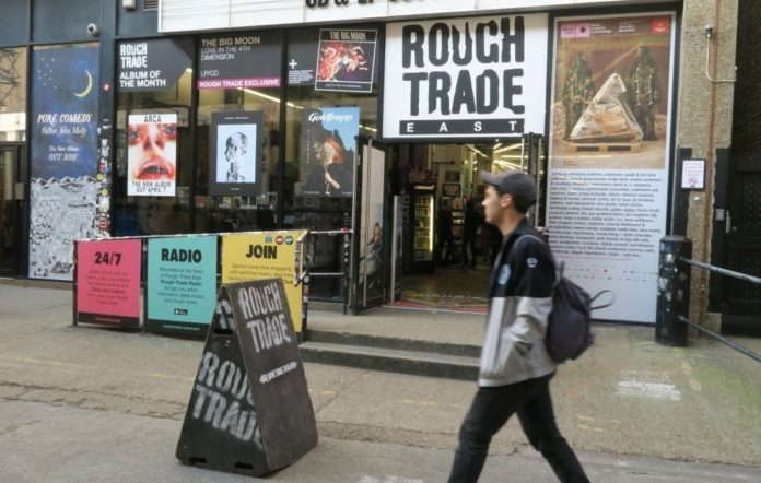 Rough Trade East off Brick Lane, Shoreditch, London