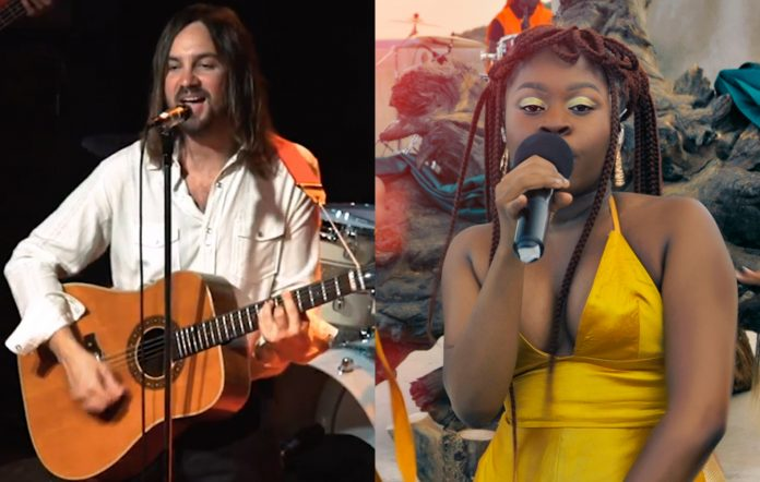 Kevin Parker of Tame Impala and Sampa The Great