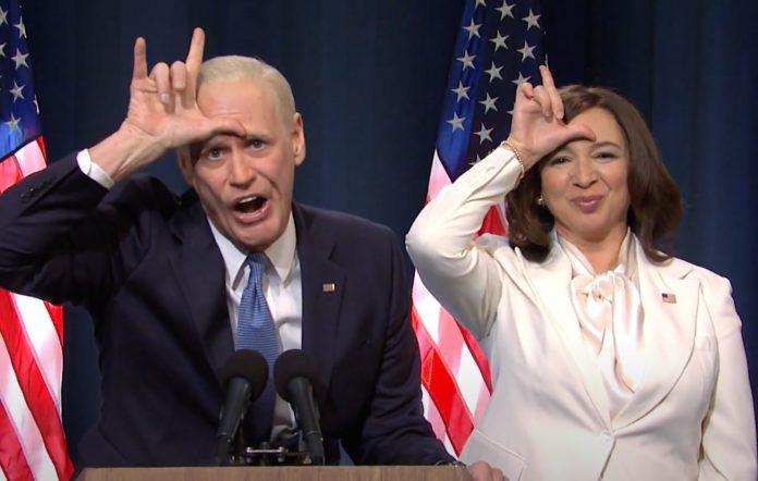Jim Carrey, Joe Biden, Kamala Harris, Maya Rudolph