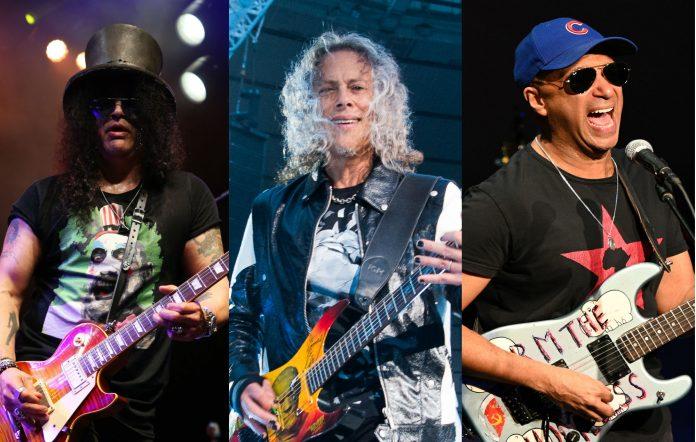 Slash Kirk Hammett and Tom Morello paid tribute to Eddie Van Halen