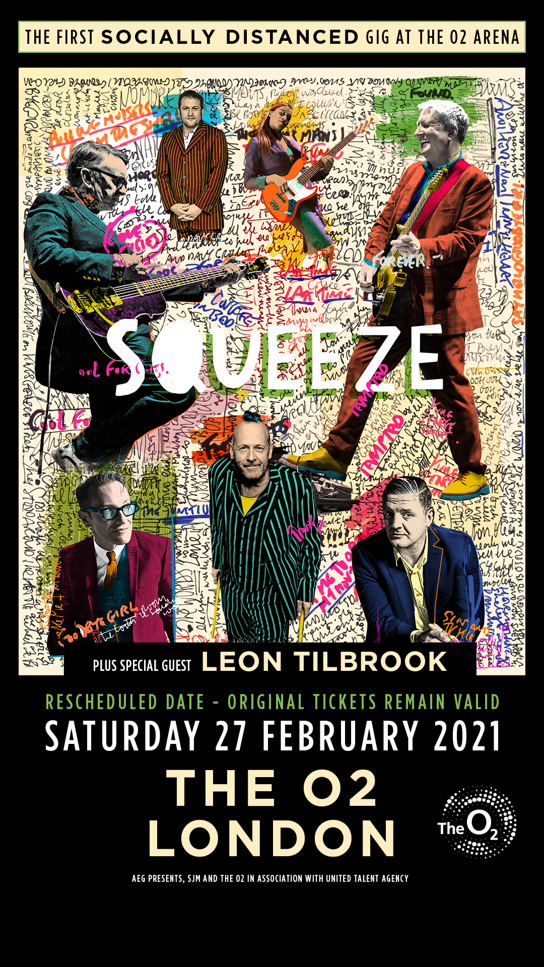 Squeeze at The O2