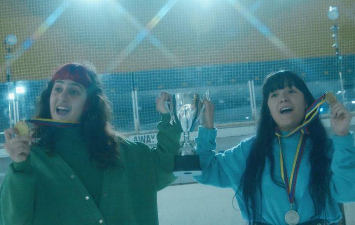 Still from Teenage Joans' 'Three Leaf Clover' video
