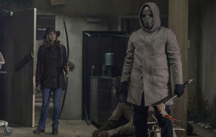 The Walking Dead masked man Elijah