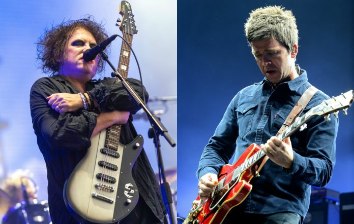 The Cure Noel Gallagher new song